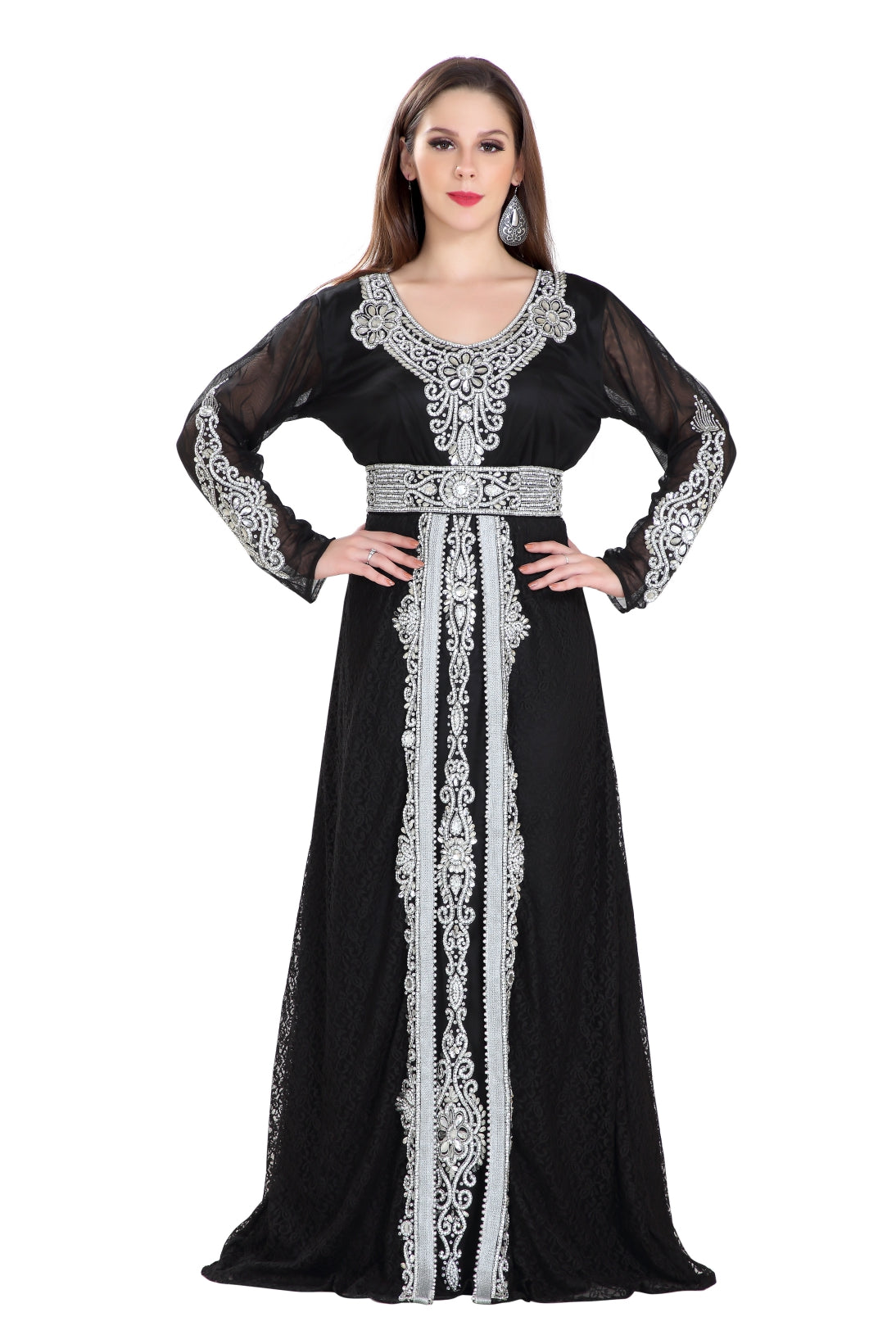 DESIGNER WEAR MUSLIM ABAYA AND KAFTAN. HAUTE COUTRE ABAYA COLLECTION FROM MAXIM CREATION.