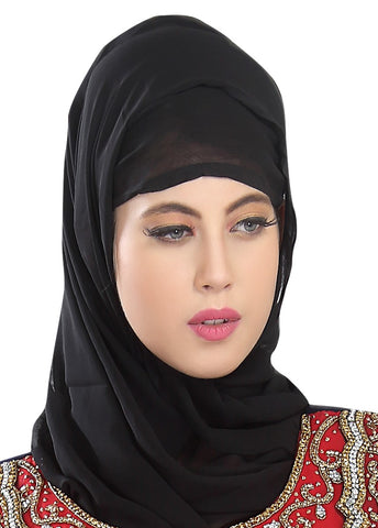 MIX AND MATCH YOUR HIJAB HEADSCARF ACCORDING TO YOUR OCCASION. VARIOUS COLORS TO CHOOSE FROM AND DESIGNER HAND EMBROIDERED STYLISH HIJAB.
