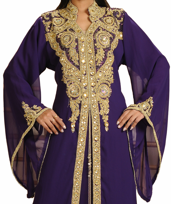 Elizabethan Henna Party Wear with Bell Sleeve - Maxim Creation
