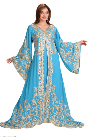 TRADITIONAL PERSIAN WALIMA GOWN 4457