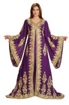 ALGERIAN KAFTAN ARABIC WEDDING GOWN - Maxim Creation