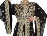 TRADITIONAL ALGERIAN KAFTAN PARTY DRESS 5516