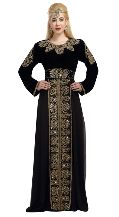 Islamic Dress Modest Abaya Kaftan - Maxim Creation