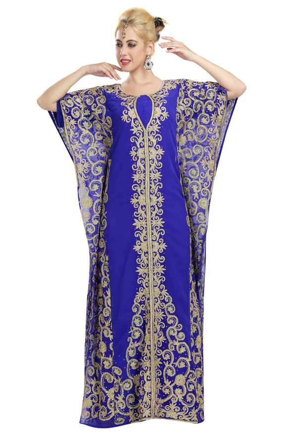 WALIMA KAFTAN MAXI DRESS - Maxim Creation