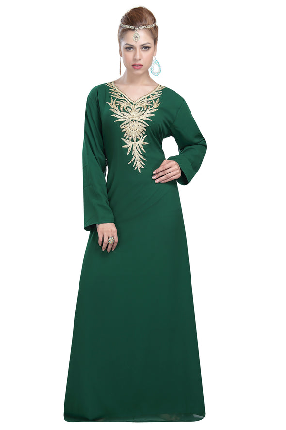 ISLAMIC PARTY WEAR GOWN - Maxim Creation