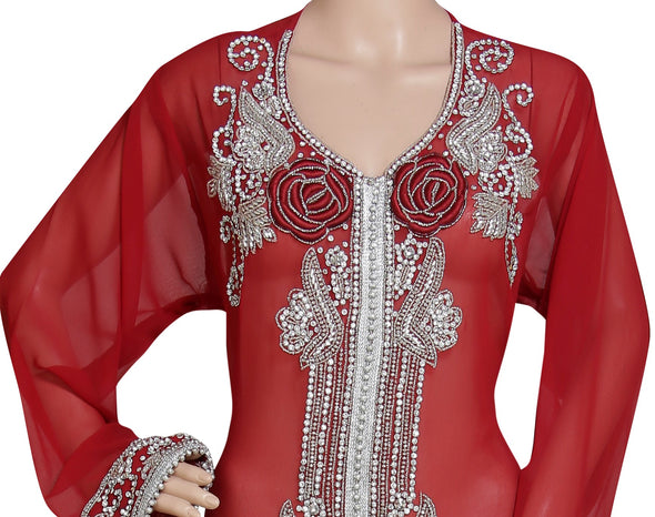 HAND EMBROIDERED JACKET - Maxim Creation