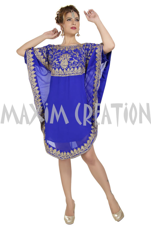 Short Length Algerian Dress - Maxim Creation