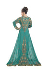 RAMA GREEN BALL GOWN