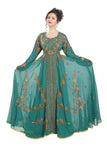 Oriental Robe Hand Embroidered Ball Gown 6603