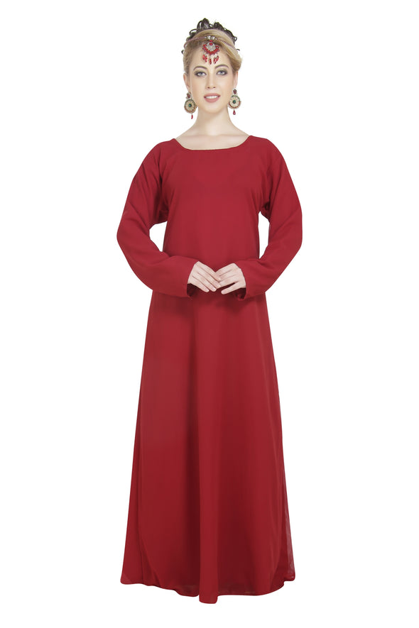 HOME USE PLAIN GEORGETTE DRESS 6634