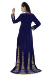 ROYAL BALL GOWN IN VELVET WITH HAND WORK 6759