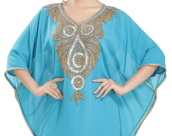 Designer Farasha Maxi Hand Embroidered Dress - Maxim Creation