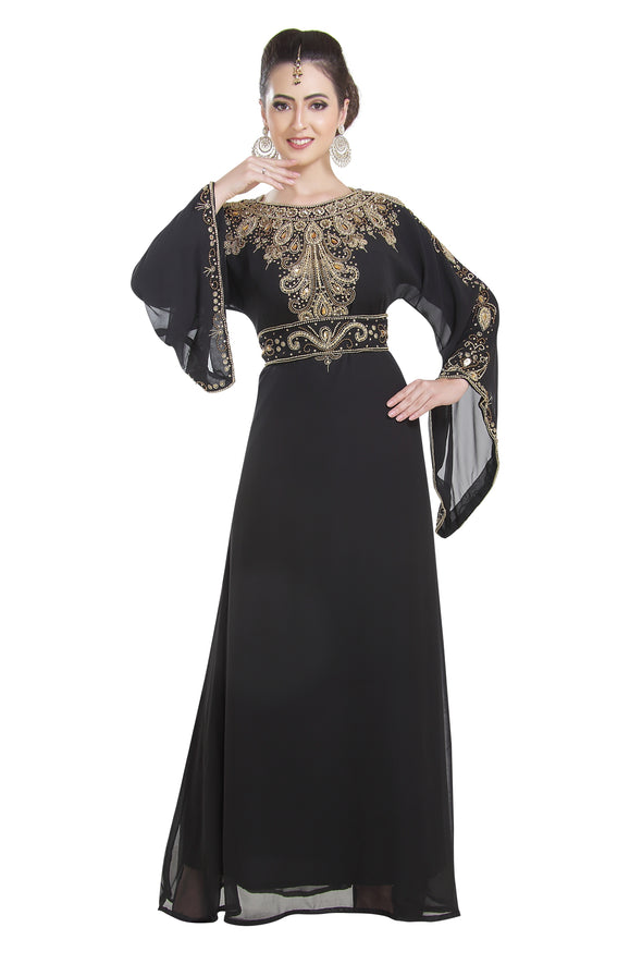 TEA PARTY EVENING DRESS - Maxim Creation