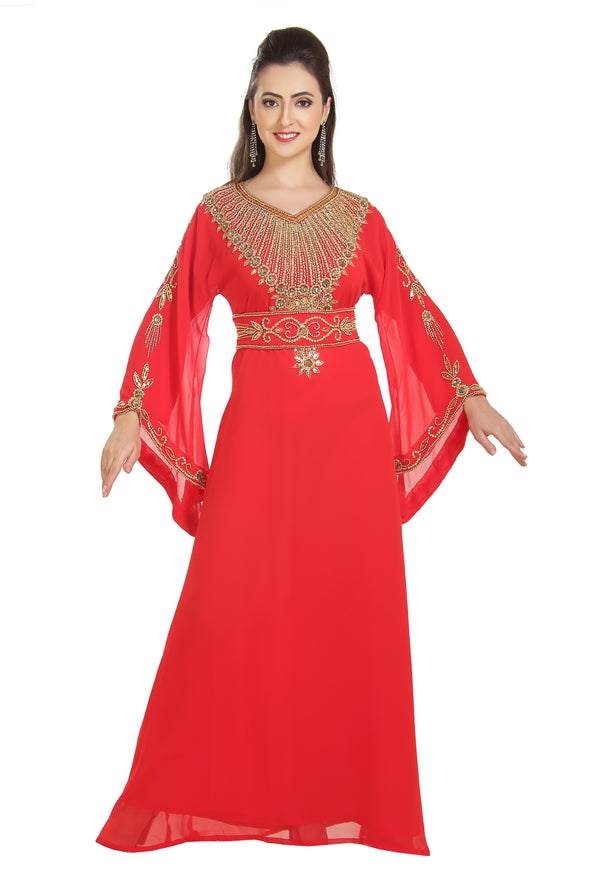 Walima  Ladies Dubai Caftan - Maxim Creation