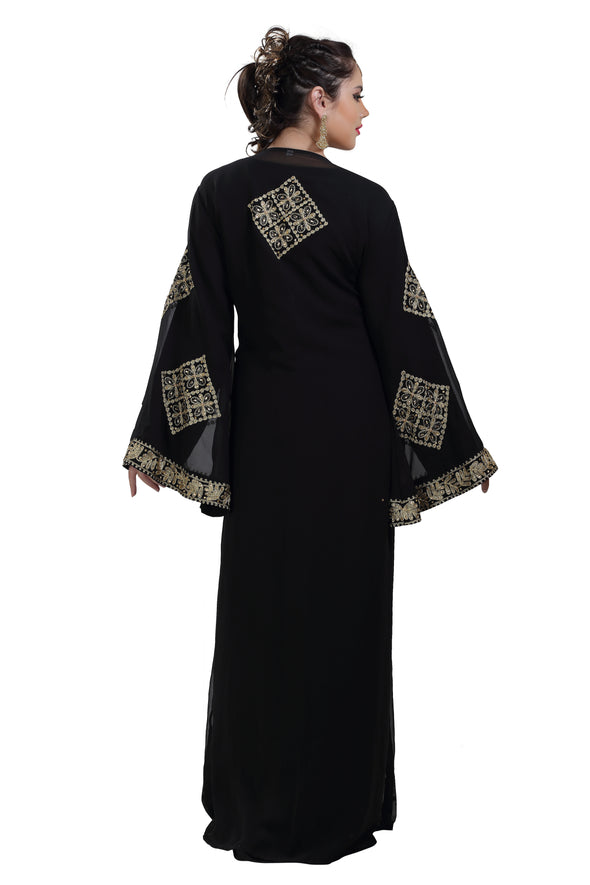 MOROCCAN KAFTAN WALIMA GOWN - Maxim Creation