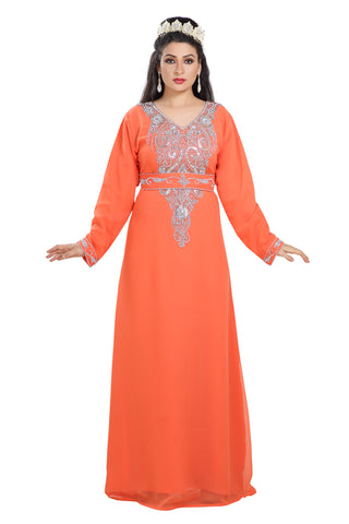 HENNA PARTY DRESS TRADITIONAL FARASHA 7309