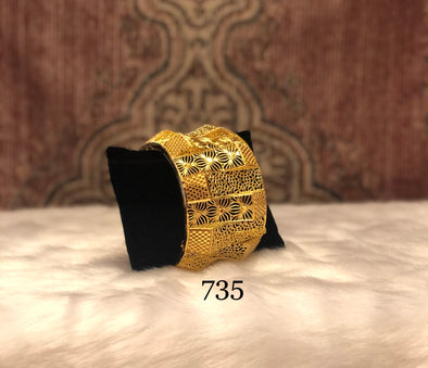 RETRO TRENDY 3D CUBE CUFF BRACELET BANGLE  735