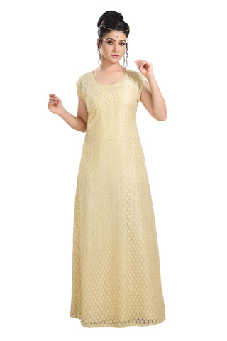 HAUTE COUTRE DESIGNER MAXI NIGHT GOWN 7559