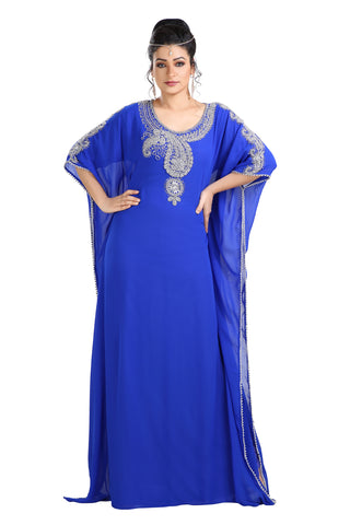 ANCIENT ARABIC FARASHA MAXI DRESS 7700