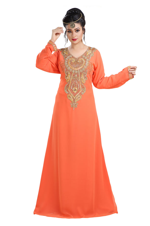 TRADITIONAL ALGERIAN FARASHA MAXI - Maxim Creation