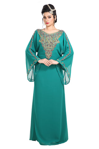 ANCIENT ARABIC DRESS JALABIYA 7711