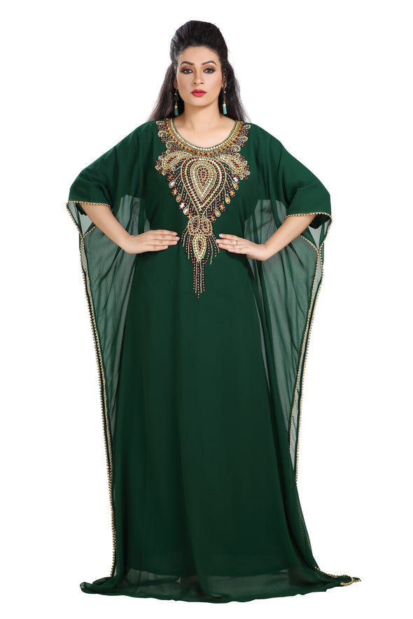 TEA PARTY EVENING DRESS JALABIYA 7721