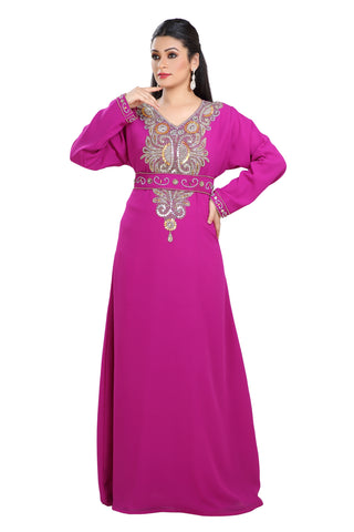 TRADITIONAL FARASHA MAXI DRESS LAWN GOWN 7725
