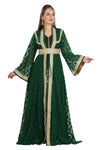 TRADITIONAL ALGERIAN KAFTAN MOROCCAN ARABIC DRESS - Maxim Creation