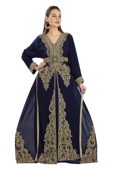 DUBAI TRADITIONAL WEAR JALABIYA CAFTAN - Maxim Creation