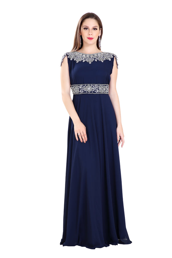 COCKTAIL PARTY DRESS ARABIC MAXI 7848