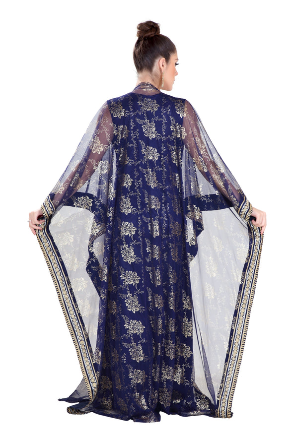 DUBAI KHALEEJI THOBE FARASHA MAXI DRESS - Maxim Creation