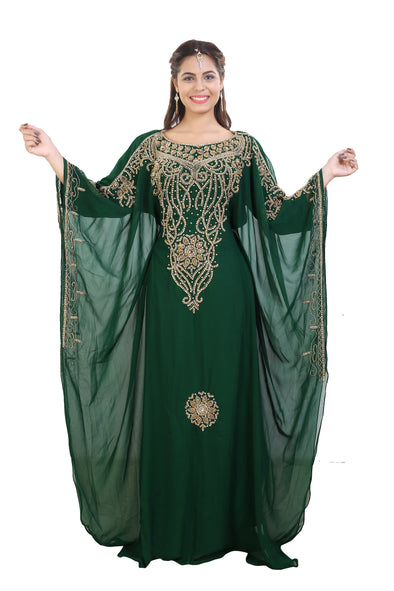 Dubai Jellabiya Embroidered Maxi - Maxim Creation
