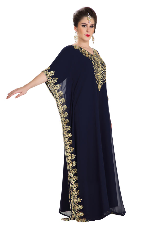 TRADITIONAL JABODAR JALABIYA DRESS - Maxim Creation