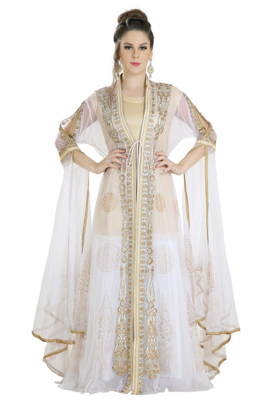KHALEEJI THOBE GANDOURA MAXI DRESS - Maxim Creation