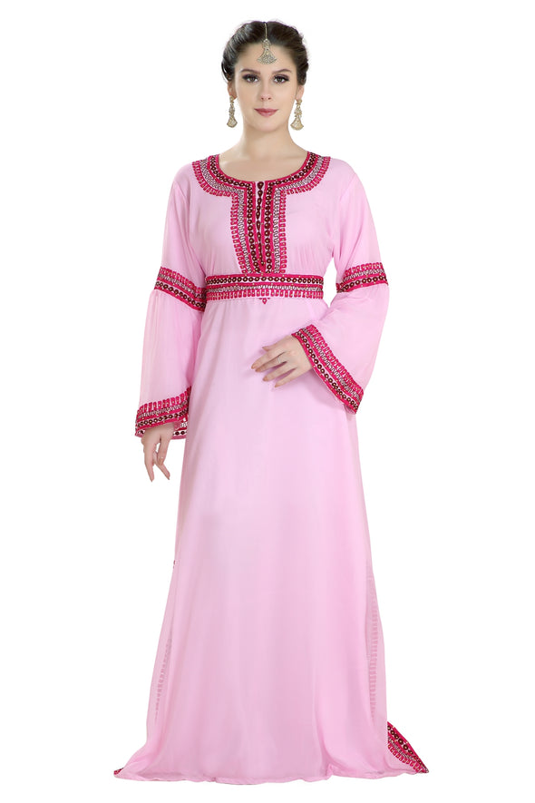 ROYAL SWEDISH WEDDING DRESS FARASHA MAXI 7967 - Maxim Creation