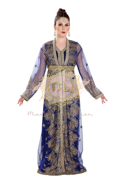 JASMINE BRIDESMAID THOBE GANDOURA KAFTAN - Maxim Creation
