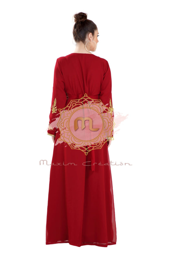TRADITIONAL MAXI DRESS ANCIENT ARABIC GOWN 7981
