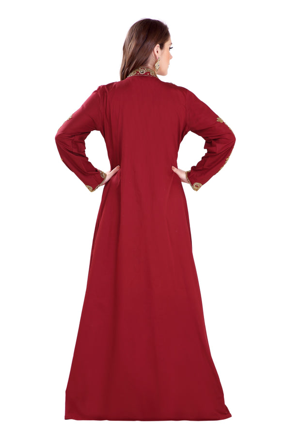TRADITIONAL SELJUG DARAAT MAXI DRESS - Maxim Creation