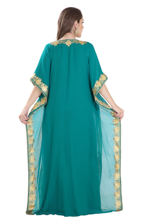 ANCIENT ARABIC GOWN FARASHA MAXI - Maxim Creation