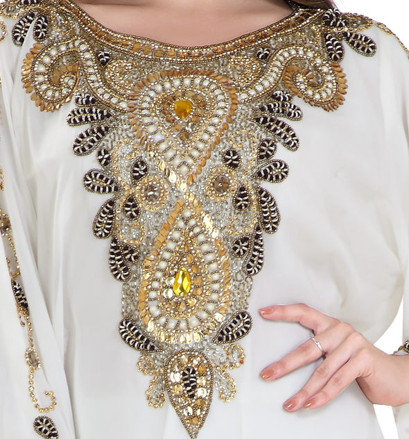 TUNISIAN CULTURAL WALIMA GOWN - Maxim Creation