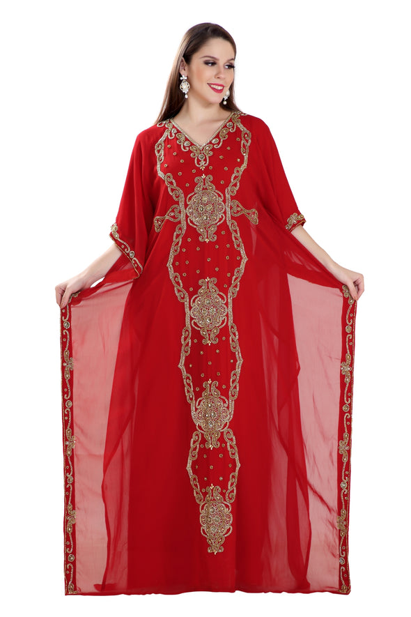 TRADITIONAL ARABIC MAXI DRESS FARASHA - Maxim Creation