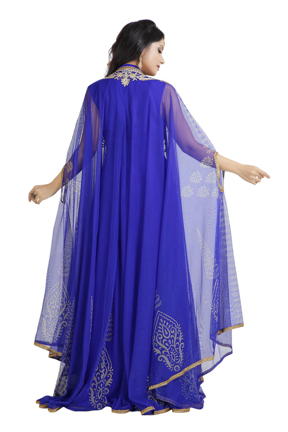 BUTTERFLY WINGS KAFTAN - Maxim Creation