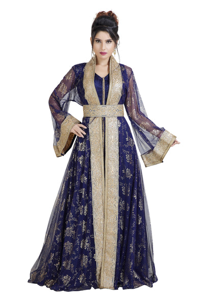 GANDOURA MAXI DRESS ANCIENT ARABIC THAWB 8020