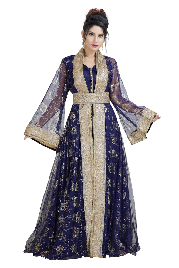 GANDOURA MAXI DRESS ANCIENT ARABIC THAWB - Maxim Creation