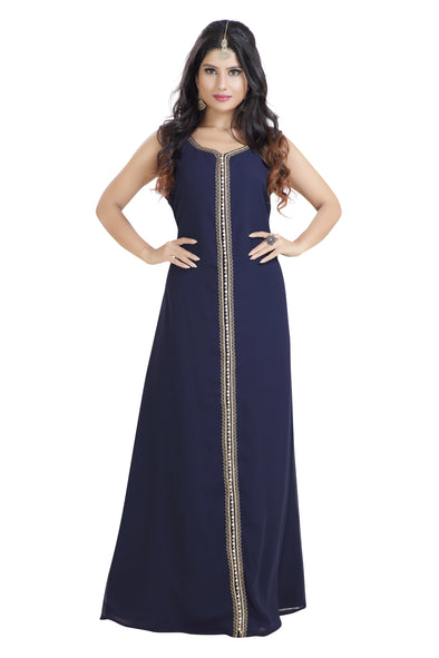 DAILY WEAR EVENING GOWN MAXI DRESS - Maxim Creation