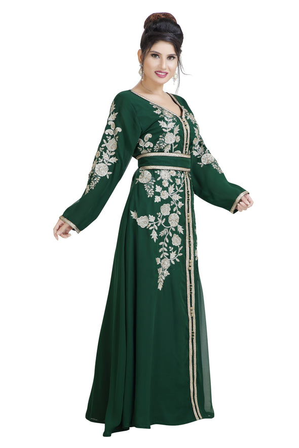 MOROCCAN TRADITIONAL WEAR MAXI DRESS - Maxim Creation