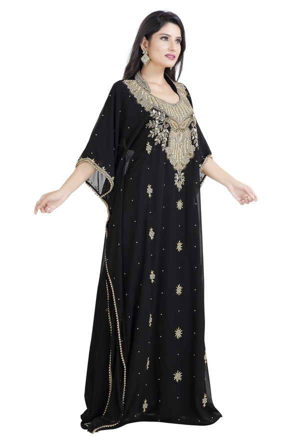 ANCIENT ARABIC MAXI DRESS AZTEC GOWN - Maxim Creation