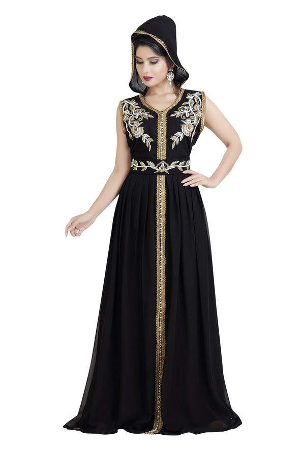BYZANTINE PARTY WEAR BELSOIE CAFTAN - Maxim Creation