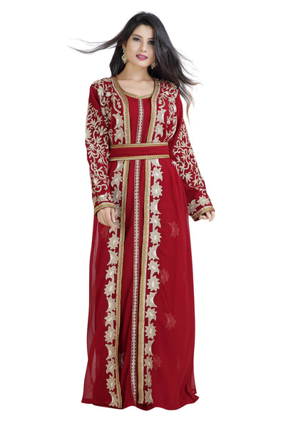 ANCIENT ARABIC DRESS BRIDAL TAKCHITA 8068