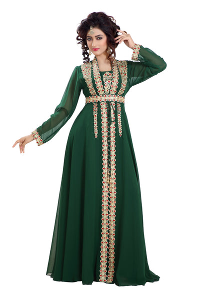 DUBAI TRADITIONAL MAXI DRESS ROBE JALABIYA 8105